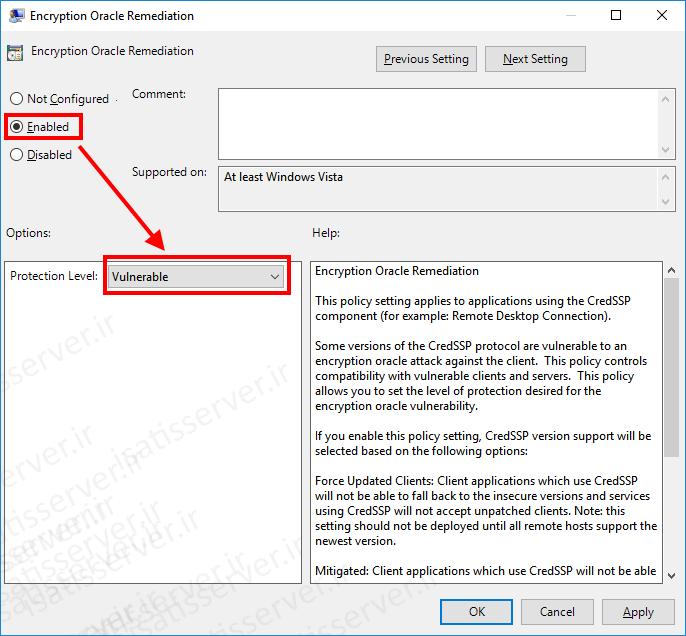 فایل Encryption Oracle Remediation