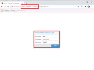 راهنمای نصب Proxmox Mail Gateway