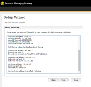 Symantec Messaging Gateway راهنمای نصب امنیت ایمیل سرور