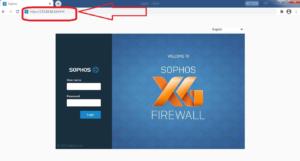 Firewall admin panel